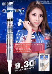 One80 Tamrin Ng 2BA 18g Tamrin Ng player model (dart barrel dart set)
